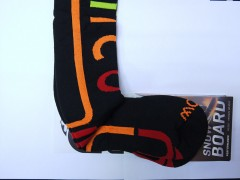 Горнолыжные носки MICO Performance Snowboard socks in Thermolite 277 (44-46, neri arancfluo)